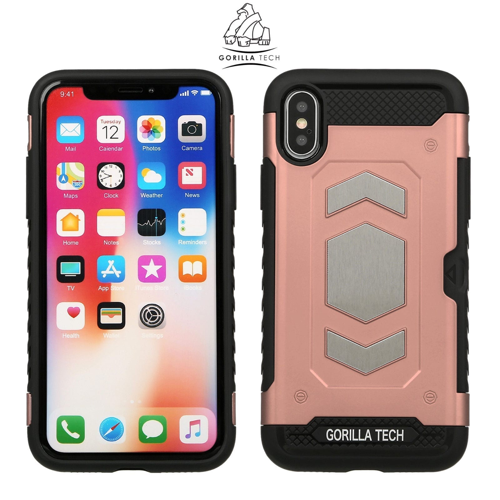 coque slim iphone xs rose